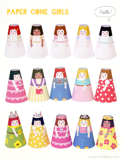 Printable-paper-dolls-cone-girls